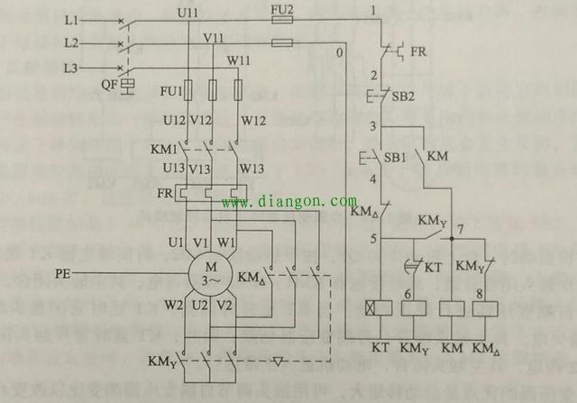 两种星三角启动电路比较 - 电动机 电工论坛