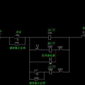手把手教你画三相异步电动机控制电路图