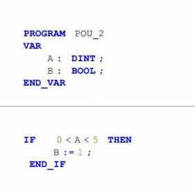 ST编程语言经验分享,连续逻辑判断语句的使用