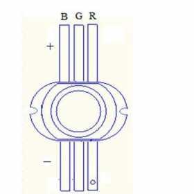 七彩发光二极管怎么用?七彩发光二极管原理