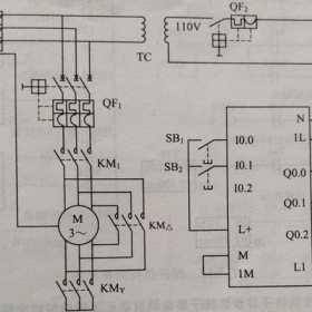 PLC编程实例(星三角形控制与交通灯控制)