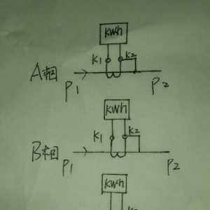 一起电度表错误接线引起的事故(干货分享)