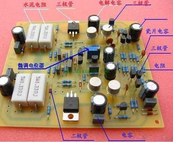 熟悉和明白常用电子元器件就可以快速看懂电子电路原理图?
