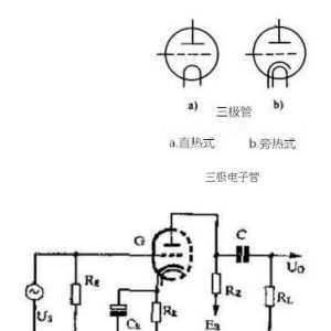 电子管的引脚序号确定方法