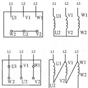 三相异步电动机绕组头、尾确定的方法