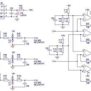 注塑机用海天18.5kW伺服电机驱动器电流检测电路