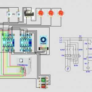 自耦变压器降压启动电路原理分析