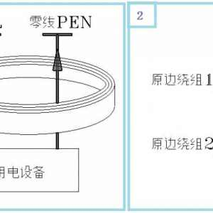 漏电开关中的零序互感器工作原理
