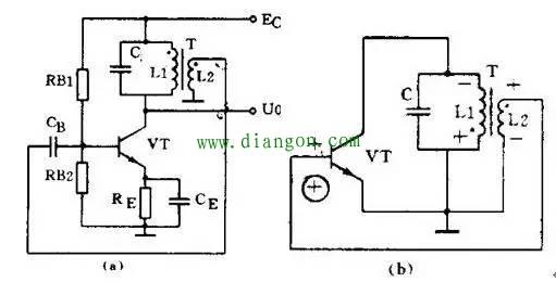 石英晶体振荡器有很高的频率稳定度,只在要求很高的场合使用.