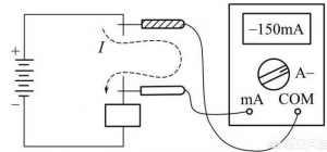 数字万用表测量直流电压和测量交流电压方法图解