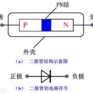 二极管的图形符号