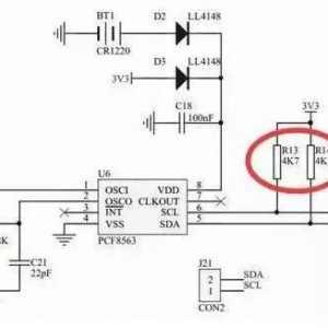 单片机上拉电阻和下拉电阻原理图解_通俗易懂谈上拉电阻与下拉电阻