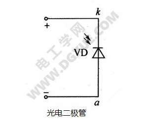 光电二极管字母符号和电路图形符号