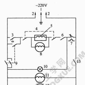 微波炉电路工作原理图解