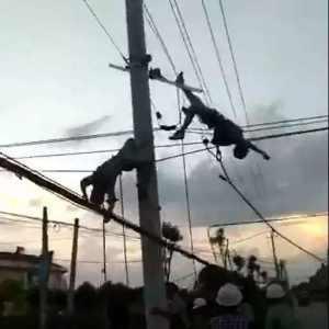 电工违章触电死亡的真实案例