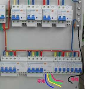 漏电保护器因接线错误而跳闸的原因和处理方法