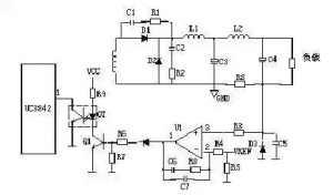 开关电源输出端限流保护电路原理