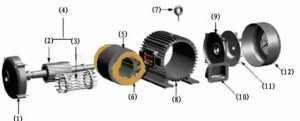电机的噪声起因是振动对吗?电机的噪声是这里发出来的!