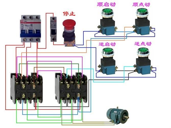 电动机电气控制电路接线图8.jpg