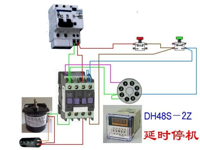 电动机电气控制电路接线图35.jpg