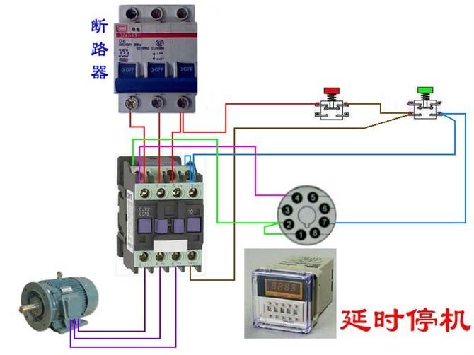 电动机电气控制电路接线图38.jpg
