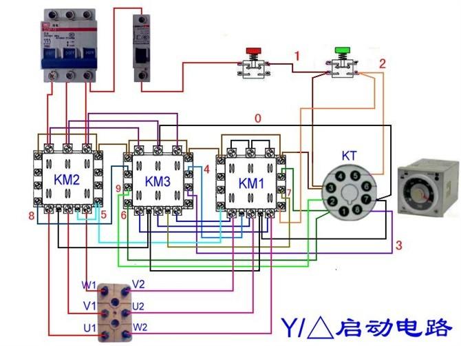 电动机电气控制电路接线图39.jpg