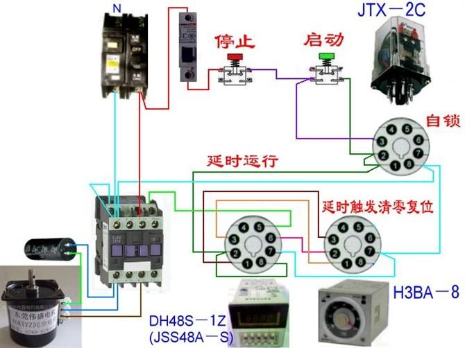 电动机电气控制电路接线图40.jpg