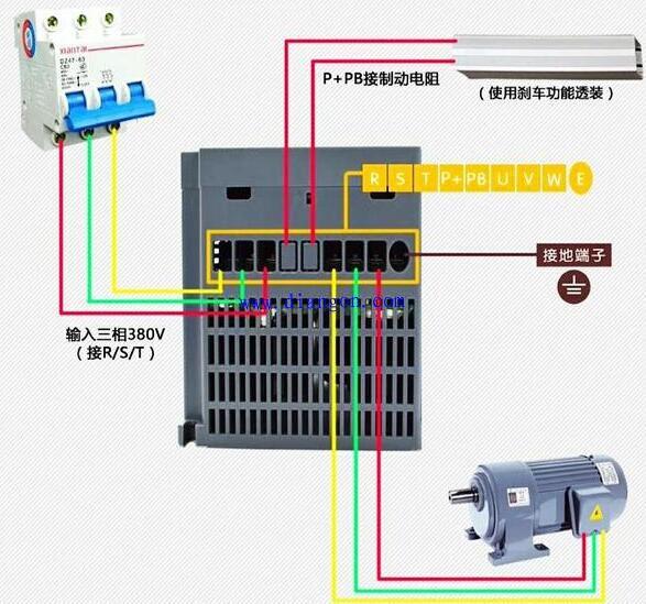 变频器复位指令和启动指令正在一齐是奈何回事