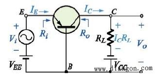 三极管共基极放大电路