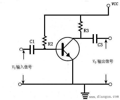 三极管自给偏压电路