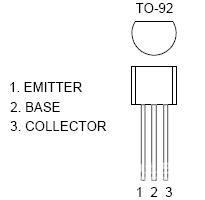 8050三極管引腳圖 8050三極管參數