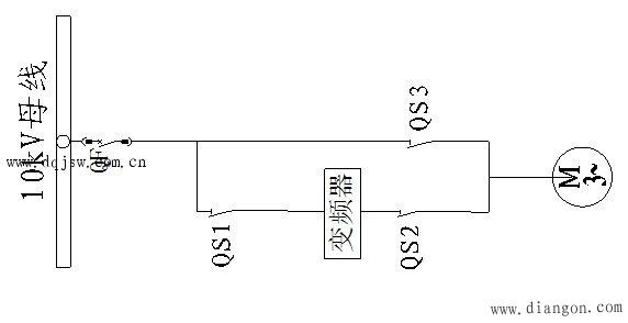工频手动旁路接线图