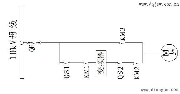 工频自动旁路接线图