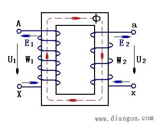 电压互感器原理图