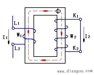电流互感器的原理图