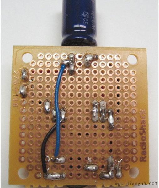 焊锡焊接电路