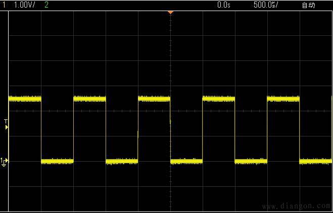 示波器伏格调整对比图