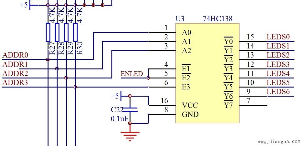 单片机教程电路图