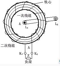 穿心式电流互感器结构原理图