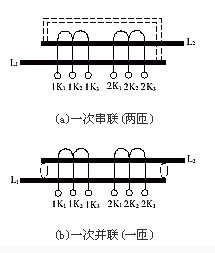 一次绕组可调,二次多绕组电流互感器