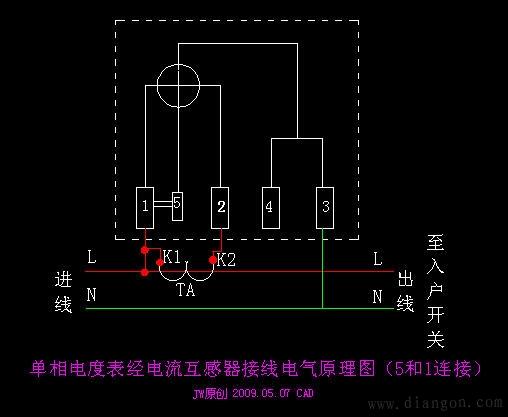 单相有功电度表/三相四线制有功电度表/电子式电能表的工作原理及接线 - aaafk - aaafk 沈阳 综合电工
