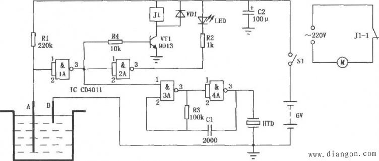 中间继电器是什么 中间继电器原理图