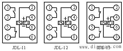 JDL表态电流互感器接线图