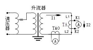 电流互感器变比测量接线图