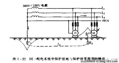 在同一配电系统中,能不能同时采用接地和接零两种保护方式? - 白鹰 - 电气技术中心