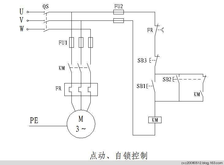 三菱PLC学习——点动+自锁控制的PLC程序 - 白鹰 - 电气技术中心
