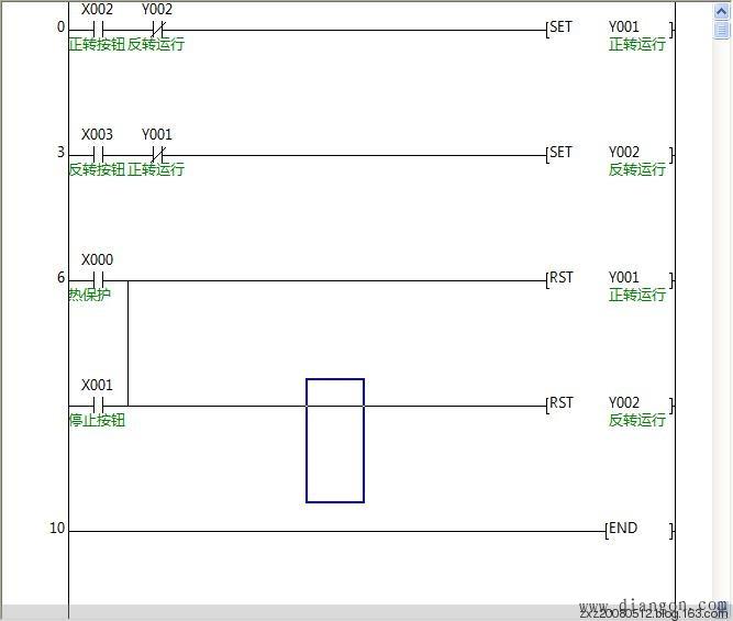 三菱PLC学习——电动机正反转控制的PLC程序 - 白鹰 - 电气技术中心