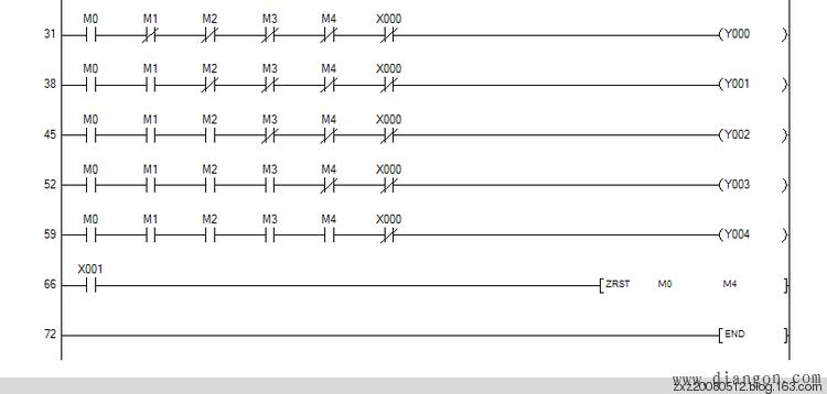 三菱PLC学习——单信号反应多状态PLC程序 - 白鹰 - 电气技术中心