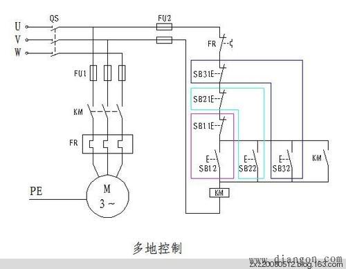 三菱PLC学习——两地控制与多地控制PLC程序 - 白鹰 - 电气技术中心