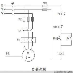 三菱PLC自锁控制程序编程实例